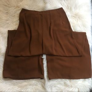 Vintage culottes size small-medium brown